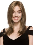 Perruque lisse en vogue lace front abordable
