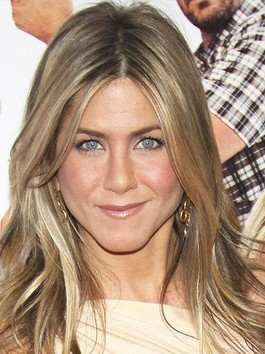 Perruque lisse full lace étonnante de style jennifer aniston