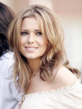 Perruque de style cheryl cole belle durable lisse