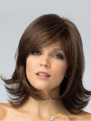 Perruque lisse capless cheveux natureles miraculeuse impeccable - Photo 1